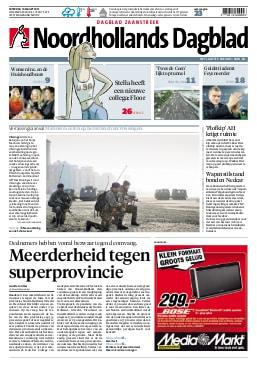 Erik Schaap in Dagblad Zaanstreek